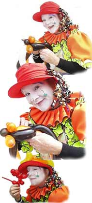 Clown and Balloon Artist, Marianne Donnelly